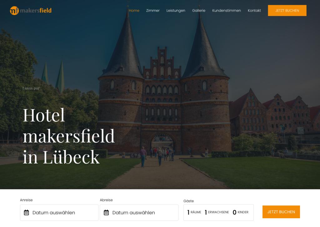 Digitale Visitenkarte für Hotels